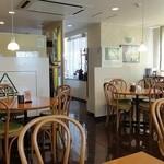 けやきカフェレストラン - 店内の様子