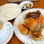 けやきカフェレストラン - ある日の日替わりランチ ¥840