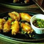 ピーカーブー - 鶏皮餃子