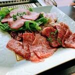 天空焼肉 星遊山 - 星遊山プチご褒美ランチ 2,500円(税込)のお肉2人分