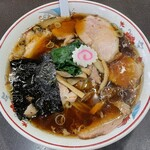 青島食堂 - 青島チャーシュー麺大盛