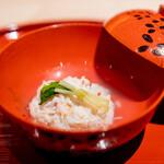 148153096 - 蟹の真薯のお椀