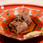 肉屋 田中 - 松阪牛のタンの煮込み