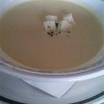 馬車道 - ランチのスープ