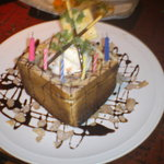 BISTRO厨房ジャングル - バースデープレゼント!ハニートースト