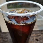 キャラバンコーヒースタンド - アイスコーヒー。