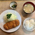 148163509 - ヒレかつ定食 ¥1,730