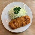 148163511 - ヒレかつ定食 ¥1,730 のヒレかつ