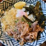 へんろみち - 温玉肉ぶっかけ 860円