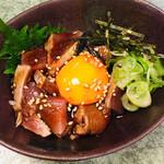 八剣伝 - 鰹のタタキユッケ