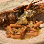 ペペロッソ - どうまん蟹と草履エビのストラングイエ