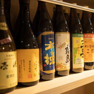 【九州各県の焼酎も魅力】かこみ庵に来れば各県の銘酒を堪能♪