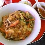 牡丹江 - 生姜味のきいた中華丼