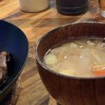 イベリコ豚おんどる焼 裏渋屋 - 豚汁