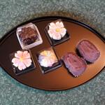玉川屋 - 上生菓子と・・おはぎ