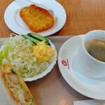 サンドイッチ工房 victory cafe - 料理写真:ランチセット