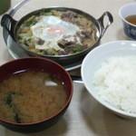 はるみ家 - すき鍋定食