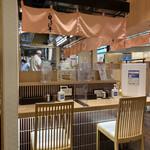 Shiroebitei - 店内は清潔感のある和食屋さんの佇まいです(o^^o)