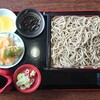 Yabukitasobamoritaya - 料理写真:野菜天丼とそば ¥800