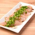 肉バルGABURICO - 鶏生ハムの葱まみれポン酢