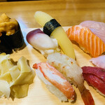 鮨元 - 『生寿司特上』別角度                                                                  ココはミシュラン北海道2017の掲載店です。