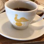 喫茶モーニング - 珈琲カップは小ぶりですがお代わり出来ます