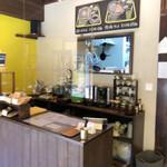 喫茶モーニング - まずはレジでオーダーしてお支払い