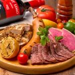 肉バルGABURICO - GABURICOの肉盛りプレート