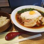 東京とろろそば - 料理写真: