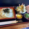手打ちうどんZ - 料理写真:天ざるうどん
