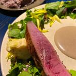 KUFUKU± - この鴨肉とポルチーニ茸のソースがもう…最高!!