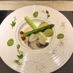 148211989 - 鮑と野菜のエチュべ