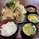 小島家 - 料理写真:竜田揚げ定食