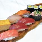 板前寿司 - ランチ1人前