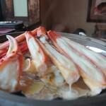 お食事処 若林 - 焼き蟹