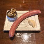 ビール専門 宮澤商店 - ・信州豚ドイツスタイル ソーセージ 700円