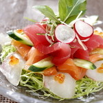 みれい - 3種鮮魚のサラダ仕立て