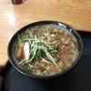 東 - 料理写真:たぬき蕎麦