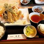 海華 - 上天ぷら膳 ¥2,200-