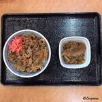 吉野家 - 紅生姜をオン