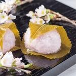 あもや南春日 - 春の香り、桜餅