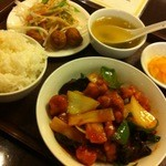 中国料理 天祥 - 酢豚定食