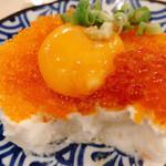 天ぷら酒場 上ル商店 - 創作的なポテサラ。食べてみて(ノ≧ڡ≦)