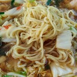 彩華ラーメン - 麺