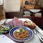 北欧料理リラ・ダーラナ - 日替わりランチ 鹿肉のストロガノフ