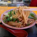 中華そば 麺屋7.5Hz - 中華そば(中)の麺
