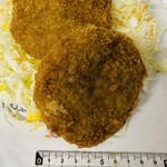 マルゲンミート - 料理写真:「メンチかつ」200円税込み