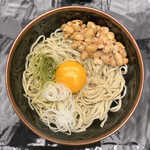 Kandamatsuya - ・納豆そば 1,000円/税抜
