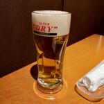 全席個室×黒毛和牛 焼肉きわみ - 生ビール