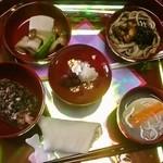 季眺 - お食い初め膳